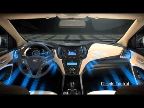 Дизайн интерьера Hyundai SantaFe 2012 - Автореклама
