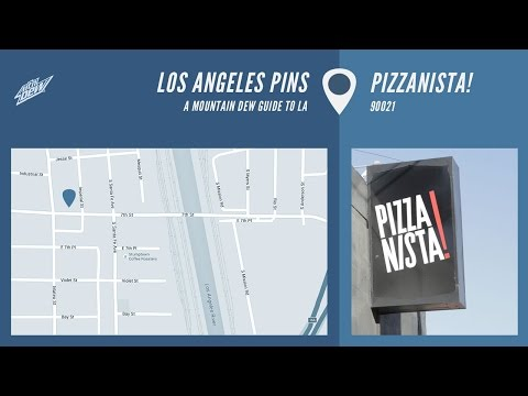 Los Angeles Pins - Pizzanista
