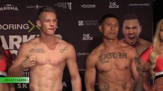 Weigh In: Andrei Mikhailovich vs Adrian Taihia #ParkerFlores Undercard