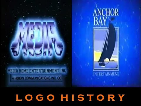 Media Home Entertainment and Anchor Bay Logo History Halloween Double Feature 2829
