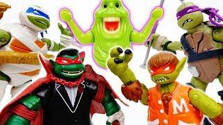 Vampire Werewolf Mummy Frankendon, We Are Teenage Mutant Ninja Turtles  - ToyMart TV