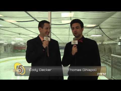 Rowan Hockey vs Holy Cross Post Game Interviews 10/31/2015