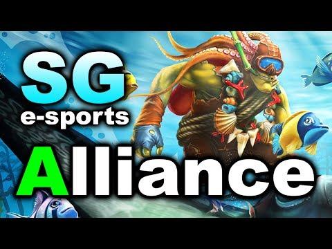 Alliance Vs Sg Grand Final Final Match Dota 2