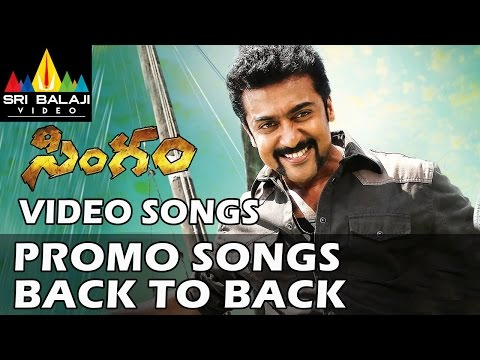 Singam Movie Video Songs Back To Back - Suriya, Anushka Shetty, Hansika - 1080p video