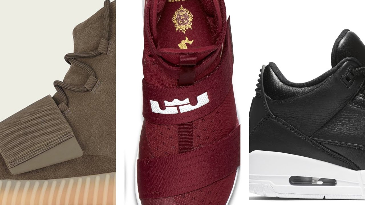 "Air Jordan 3 ""Premium Icon"", Yeezy Boost 750 ""Chocolate"" , Flyknit Racers and more on Heat Check"