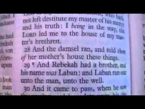 Genesis 24 Holy Bible (King James)