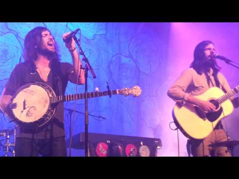 The Avett Brothers live - the whole concert -  at Muffathalle in Munich Mnchen 2013-03-08