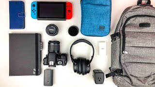 What's In My Travel Tech Bag 2018!