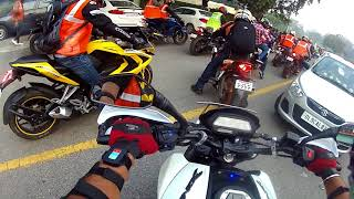 Against Child Abuse|Group Ride|Dominar 400