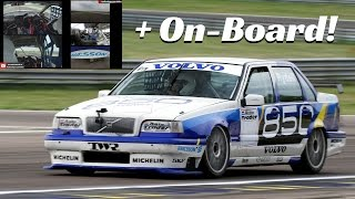 Volvo 850 BTCC ex Rydell - Outside Actions & Exclusive Multicam On-Board!!!