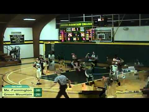 Green Mountain vs. UMaine-Farmington Men's Basketball