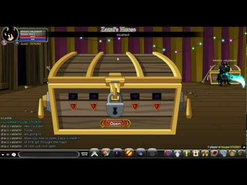 AQW How to Open Zazul