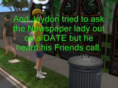 Sims 2:Pee Movie (with Women) and Money!