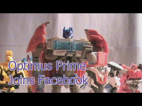 Optimus Prime Joins Facebook: Part 1 of 3