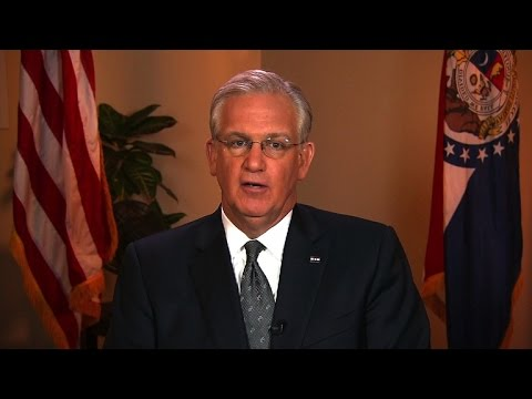 "Jay Nixon: Ferguson police tried to ""tarnish"" Michael Brown"