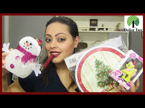 HUGE Dollar Tree & Five Below Haul #4 ...Holiday Goodies & More!