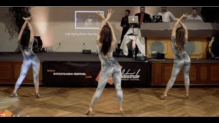 Sara Panero Ladies Show Team Performance @Bachateando Nuremberg 2019