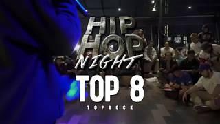 ILHAM LOOSE VS RICO   Top 8 Footwork   Hip Hop Night