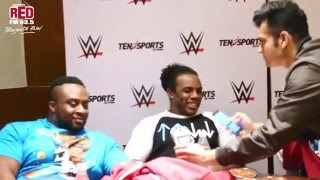 The New Day (WWE) performing Bollywood Dailouges