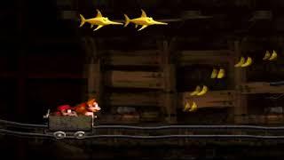 Donkey Kong Country (SNES) Monkey Mines - Mine Cart Carnage