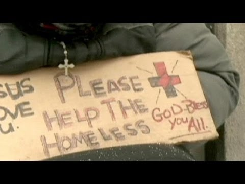 Homeless seek sanctuary as 'polar vortex' freezes parts of US and Canada
