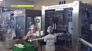 Milksan Yoğurt Dolum Makinası