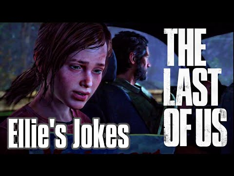 The Last of Us Remastered - Ellie's Jokes / Puns - 'That's all I got' Trophy (Gold)