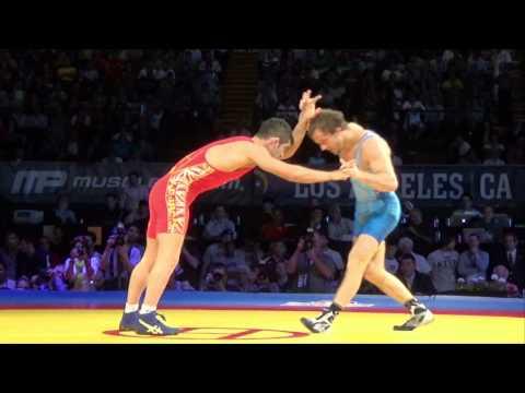 61 KG Reece Humphrey USA vs Masoud Esmailpoor Jouybari Iran