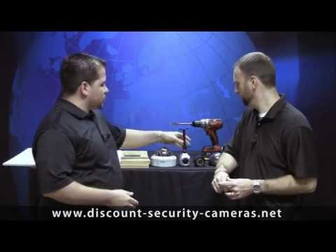 Security Camera Installation on a Drop Ceiling - Part 1 of 4