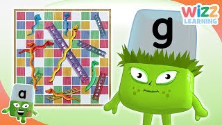 Phonics - Alphabet Games | Alphablocks | Learn to Read | Wizz Learning