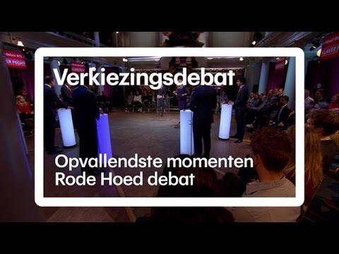 Hoogtepunten Rode Hoed debat - RTL NIEUWS