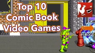 Countdown - Top 10 Comic Book Video Games