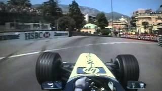 F1 Monaco 2003 - Ralf Schumacher Pole Lap Onboard (720p50 FPS)