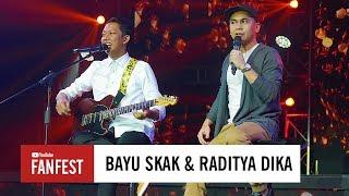 Download video Bayu Skak & Raditya Dika @ YouTube FanFest Indonesia 2017