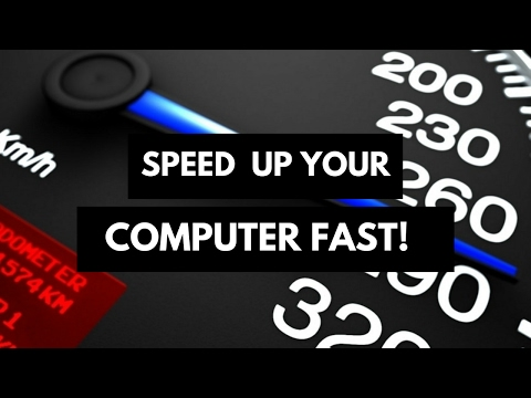 Make Your Computer SUPER FAST