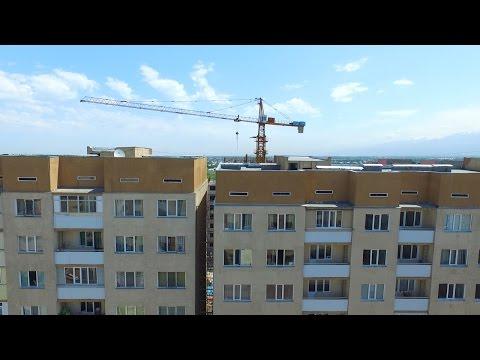 9-этажный дом в Алматы накренился на 32 сантиметра