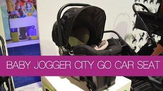 NEW! Baby Jogger City Go Infant Car Seat ~ ABC Kids EXPO 2015