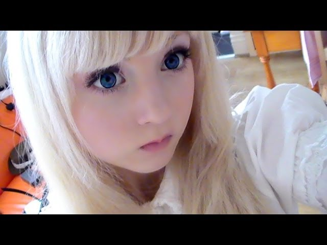How to look like a doll (make up)