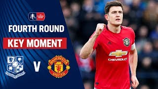 Maguire's STUNNING First Goal for United! | Tranmere vs Manchester United | Emirates FA Cup 2019/20