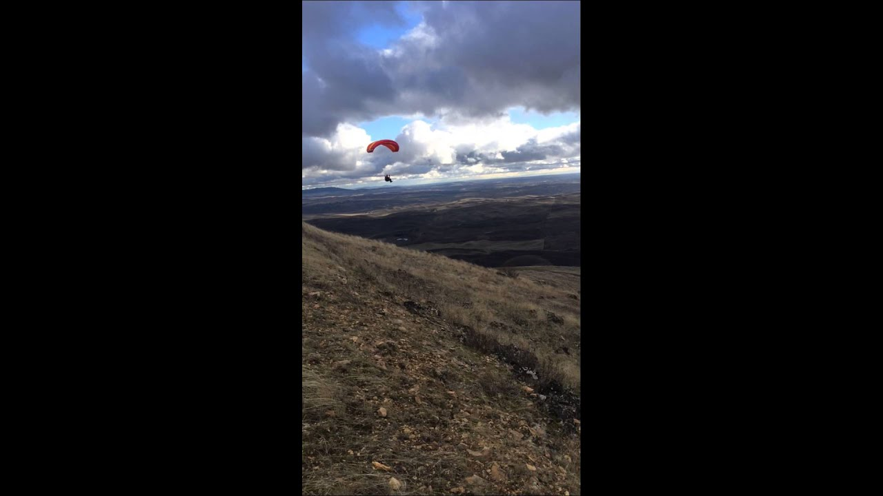 The ozone FIREFLY2 Speed wing Steptoe Butte State Park.. Pilot ...