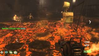 Black Ops 2 Zombies | Town | Full Game | 4 Players