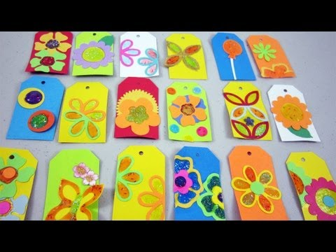 How to make stained glass gift tags
