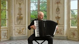 French Classical Accordion Music - Acordeon Instrumental - Rameau - Gigue en Rondeau  - Akkordeon