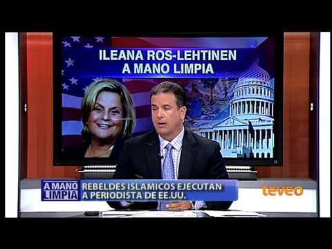 Ileana Ros-Lehtinen en A Mano Limpia parte I - América TeVé