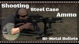 Shooting Steel Cased Ammo In An AR-15, AK-47, & a Handgun Overview (HD)