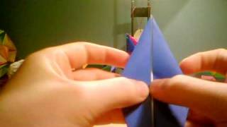 How To Make An Origami Waterlilly