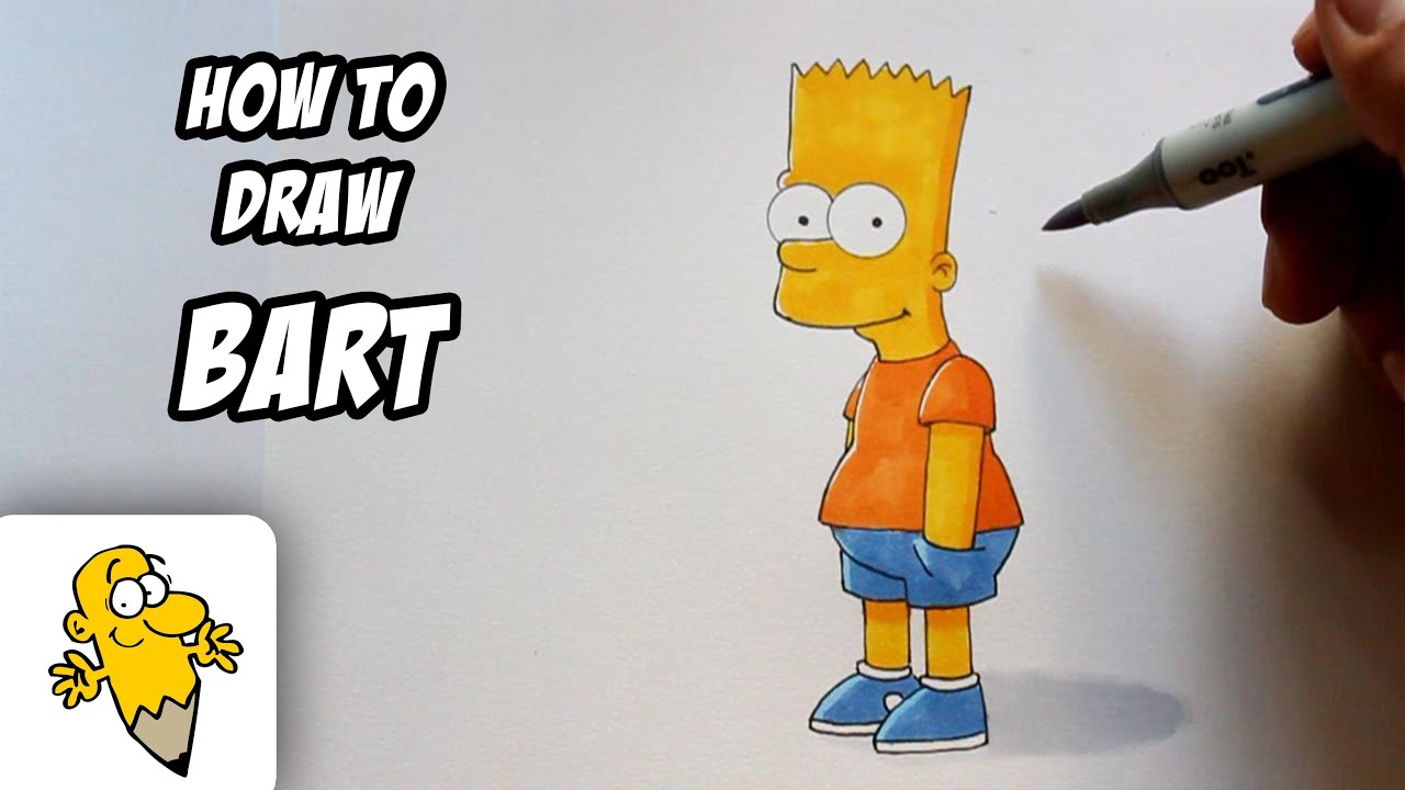 Simpson Drawing Tutorial Simpsons Drawing Tutorial
