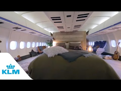 Airbnb & Klm - The Airplane Apartment video