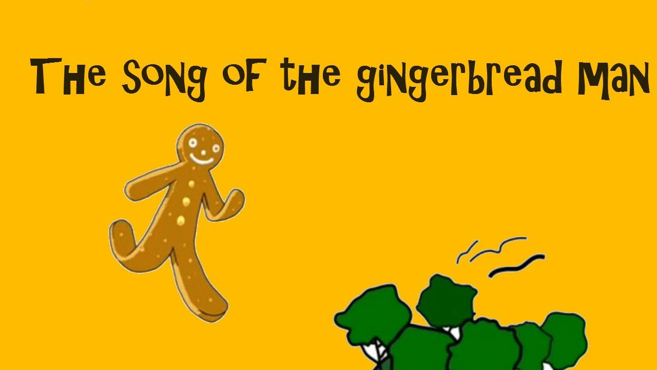The Gingerbread Man A Song For Children YouTube