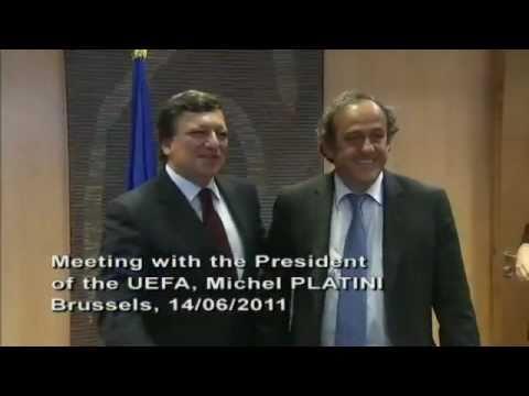 Rencontre avec M. Michel Platini, Président de l'UEFA